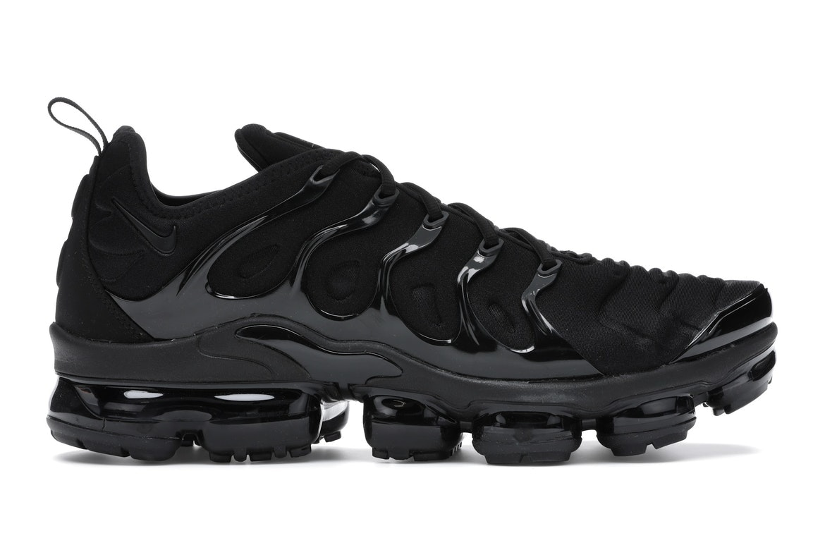 nike air vapormax plus zwart