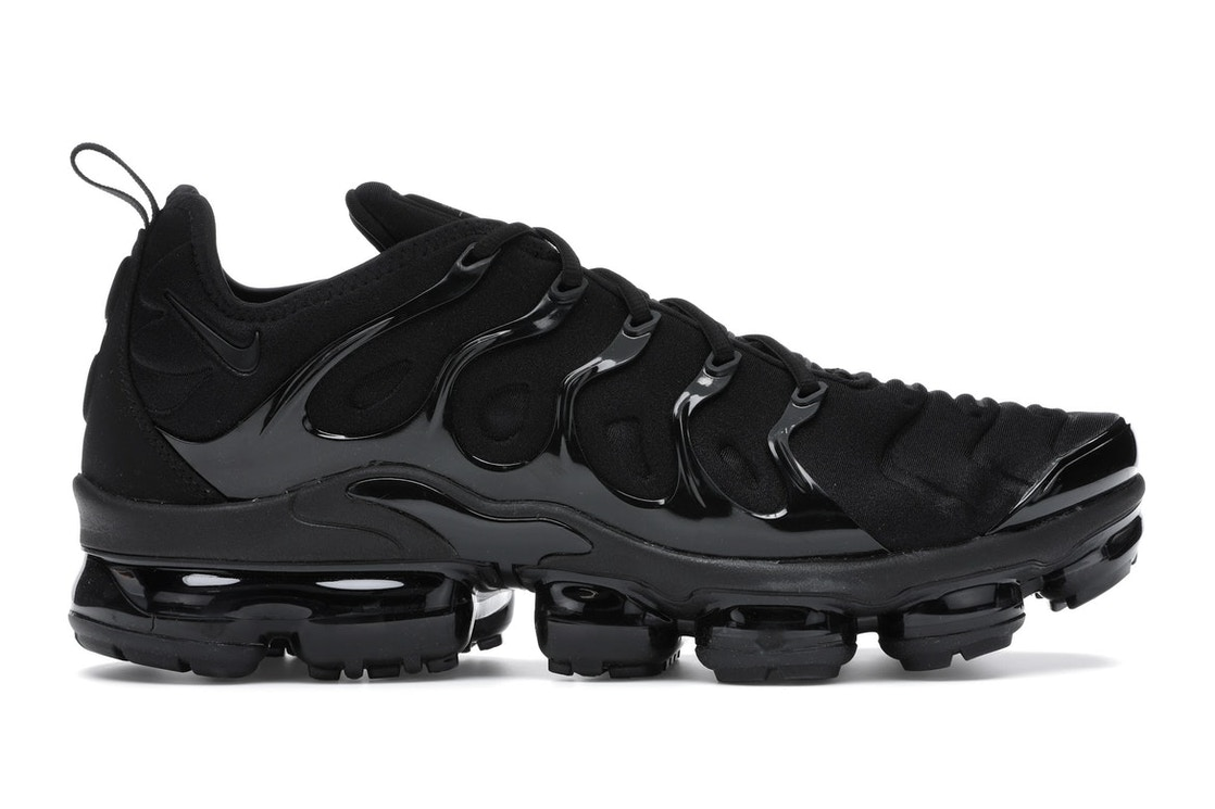 296a6d6a70f Air VaporMax Plus Triple Black - 924453-004