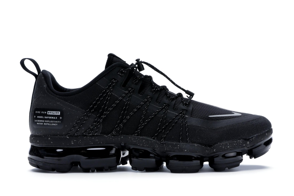 factory authentic 0d92a 7de6a Air VaporMax Run Utility Black Reflect Silver