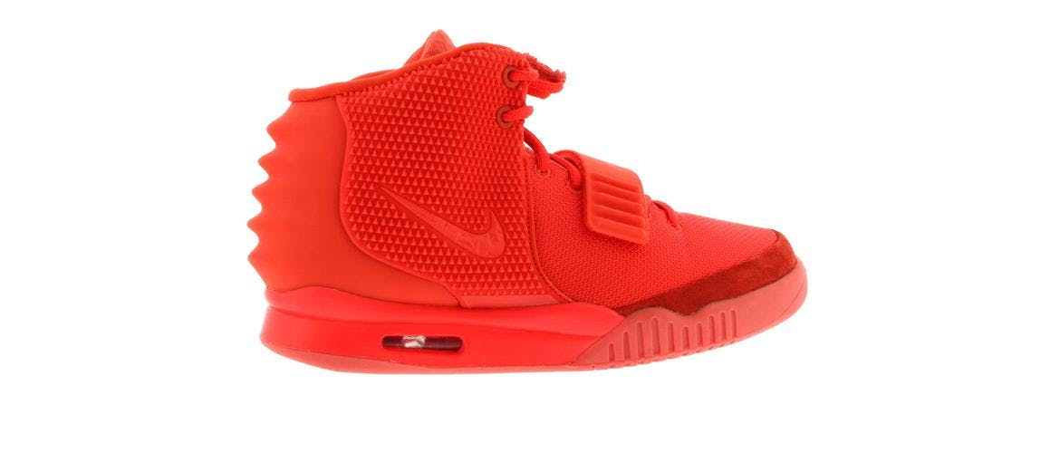 free shipping 73824 3c16d nike yeezy red october size 12