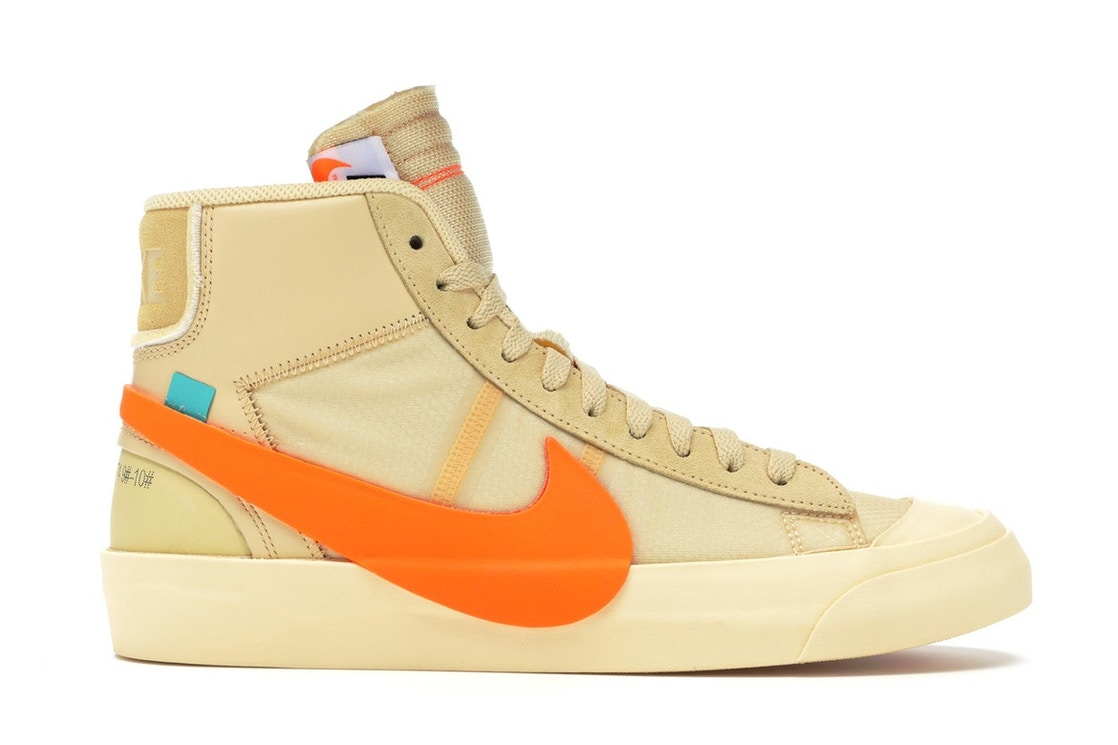 767f51e25c23 Nike Blazer Mid Off-White All Hallow s Eve - AA3832-700