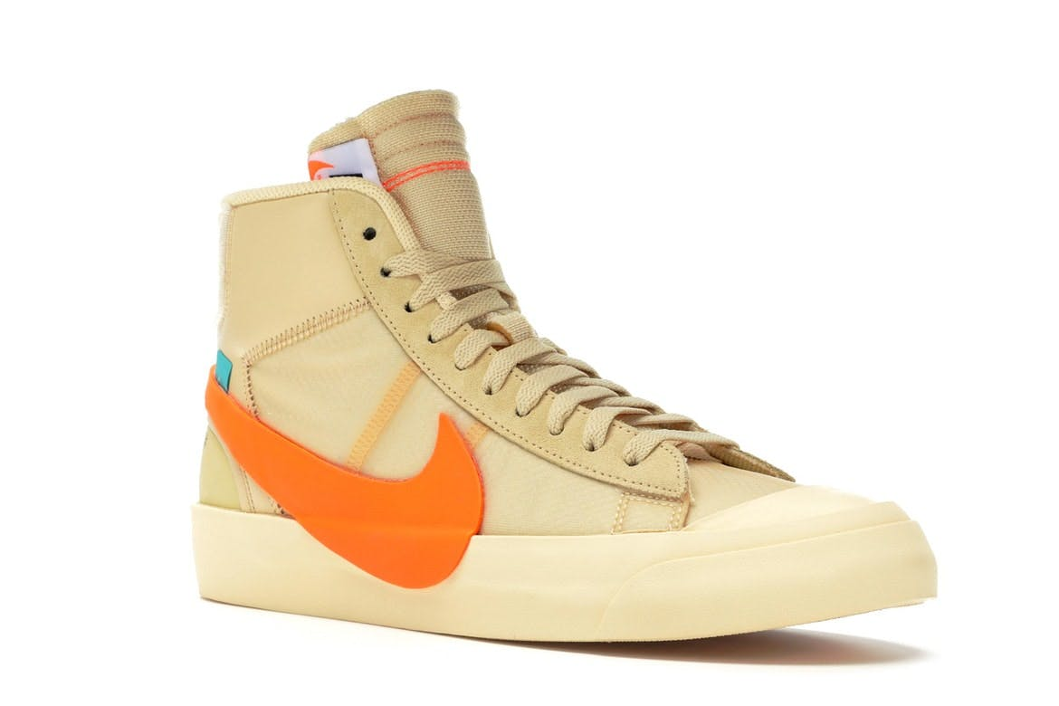 Nike Blazer Mid Off White All Hallow S Eve Aa3832 700