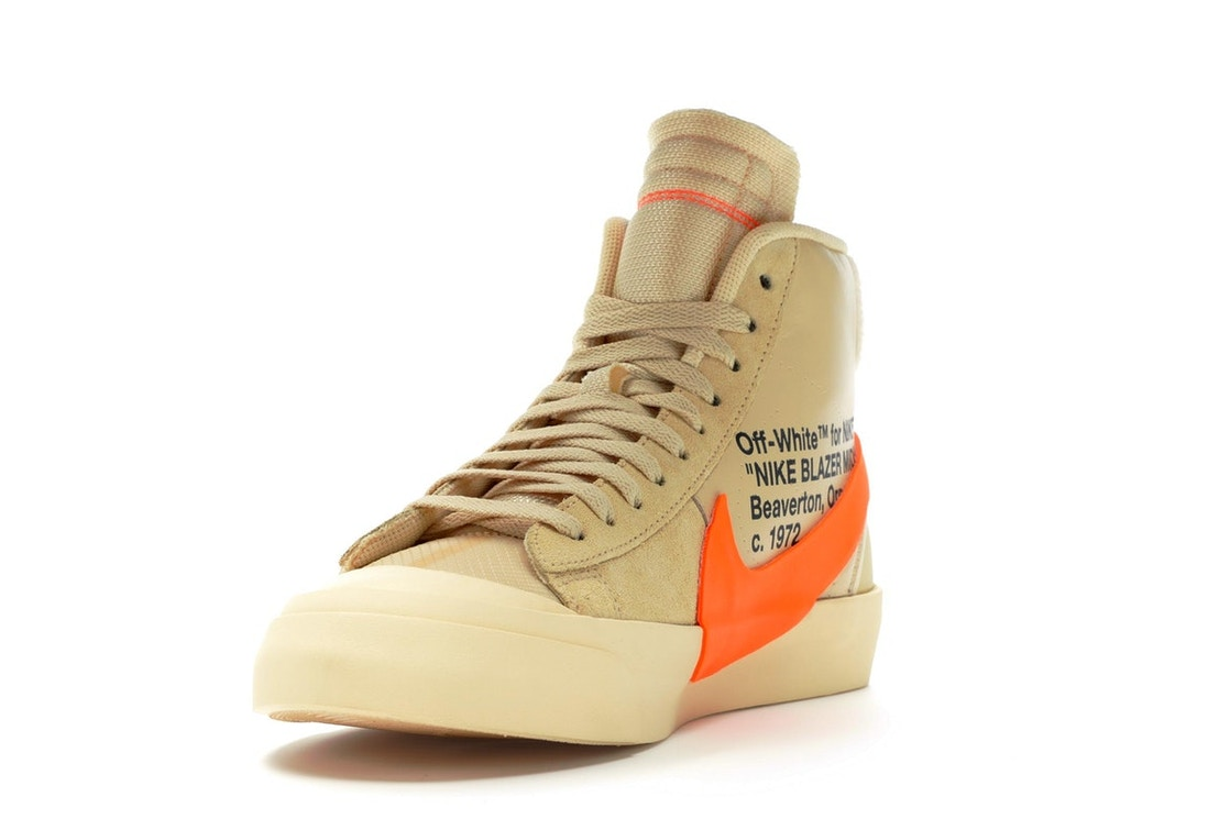best authentic 8fa32 6ea03 Nike Blazer Mid Off-White All Hallows Eve - AA3832-700