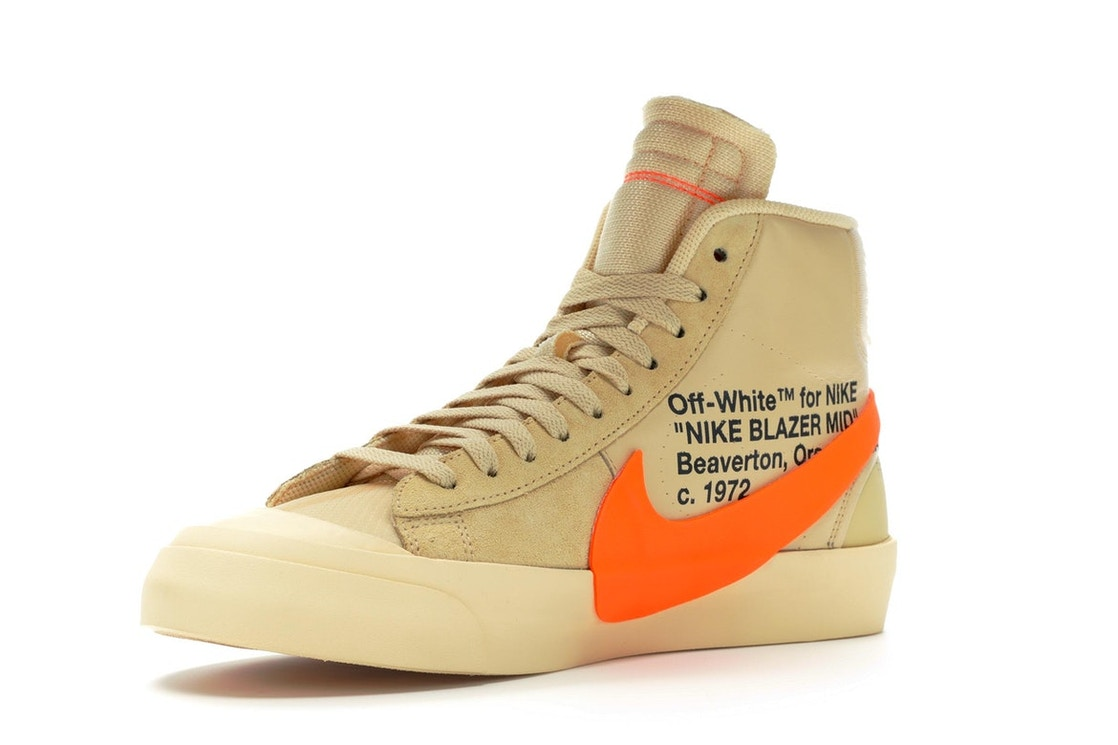 buy online b8284 8fd20 Nike Blazer Mid Off-White All Hallow s Eve - AA3832-700