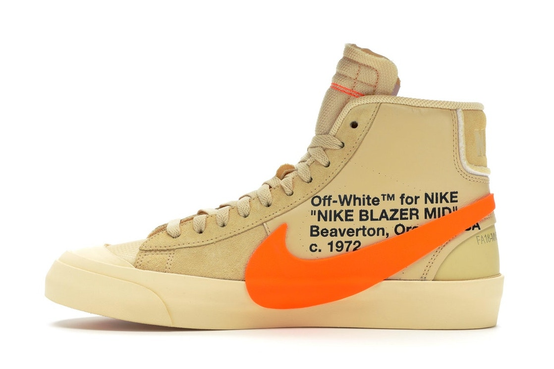 2cfb9a1d Nike Blazer Mid Off-White All Hallow's Eve - AA3832-700