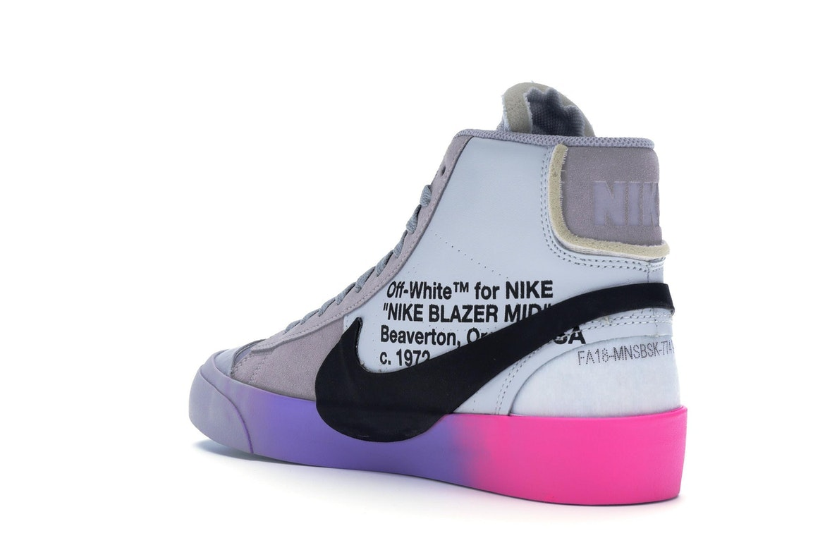 nike blazer mid off white stockx