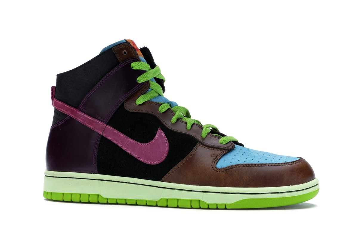 Nike Dunk High Undefeated - 312205-461