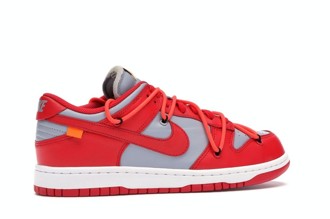Gracias Girar Fahrenheit  Nike Dunk Low Off-White University Red - CT0856-600