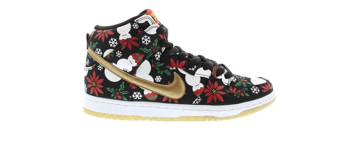 Nike Dunk Sb High Concepts Ugly Sweater Black
