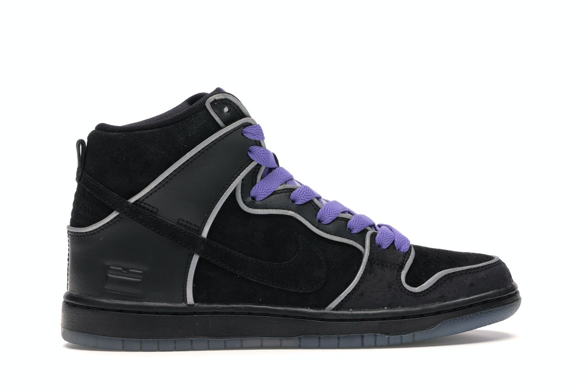 purple and blue nike dunks