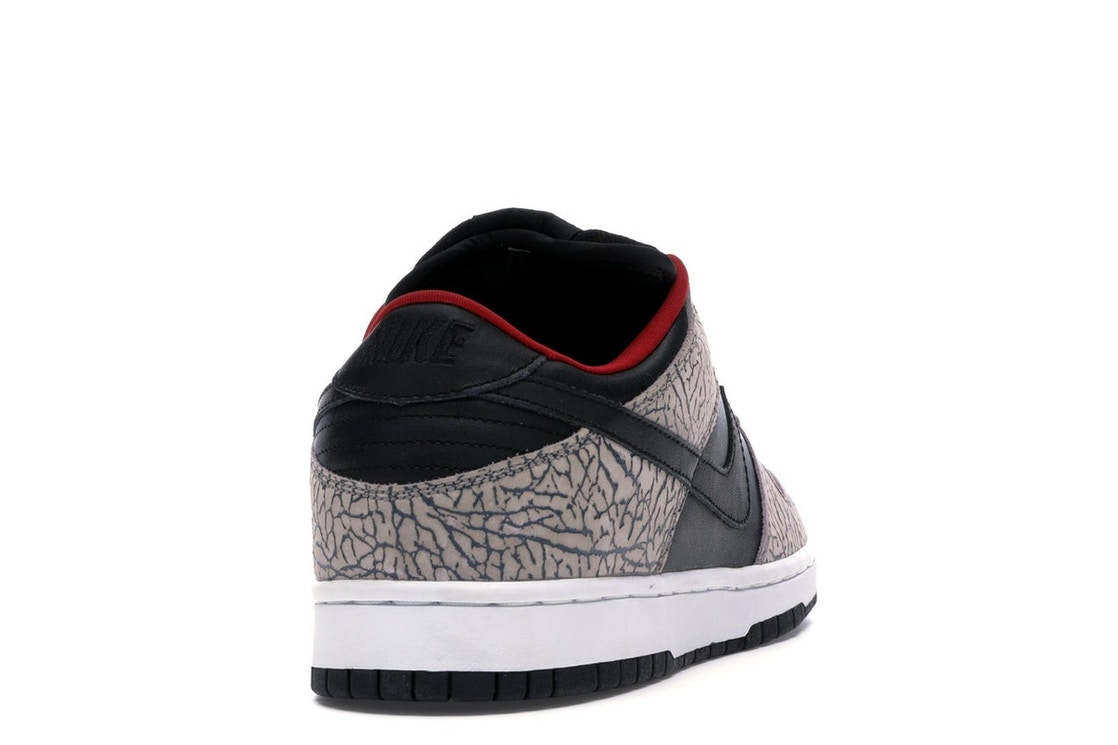 best service facd1 f8353 Nike Dunk SB Low Supreme Black Cement (2002) - 304292-131