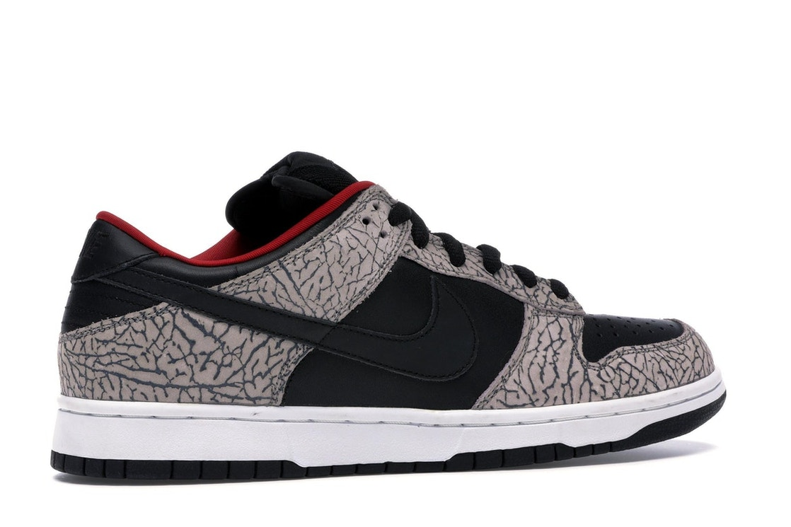 9e05ce7e Nike Dunk SB Low Supreme Black Cement (2002) - 304292-131