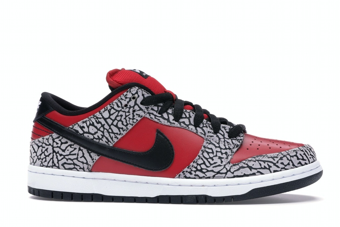 sells new arrivals crazy price Nike Dunk SB Low Supreme Red Cement (2012)