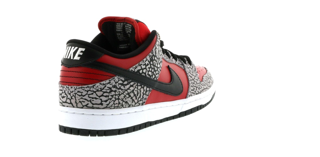 a8886796be6 Nike Dunk SB Low Supreme Red Cement (2012) - 313170-600