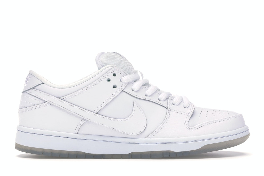 promo code a1f7d 98a8c Nike Dunk SB Low White Ice - 304292-100