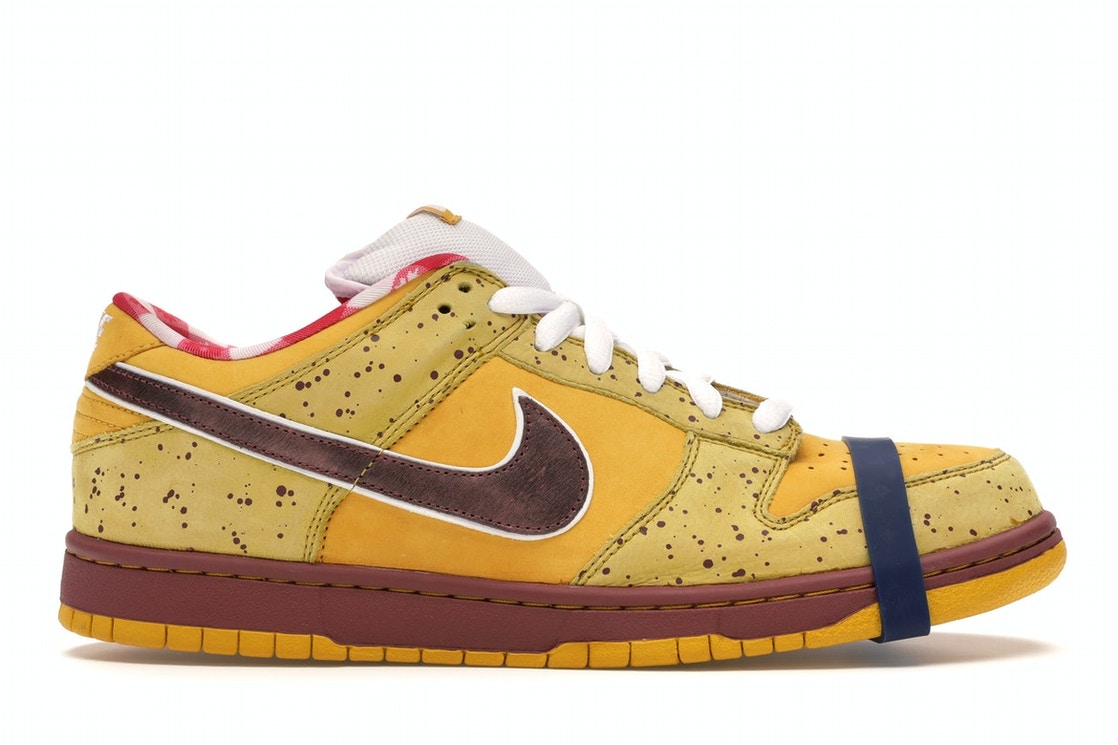 purchase cheap b25bc 23681 Nike Dunk SB Low Yellow Lobster - 313170-137566