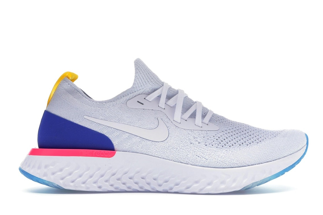 6afac9a3a234 Sell. or Ask. Size  9.5. View All Bids. Nike Epic React Flyknit White Racer  Blue ...