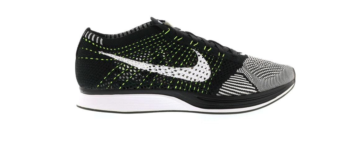 18020418af91 Sell. or Ask. Size  11. View All Bids. Nike Flyknit Racer Black White Volt