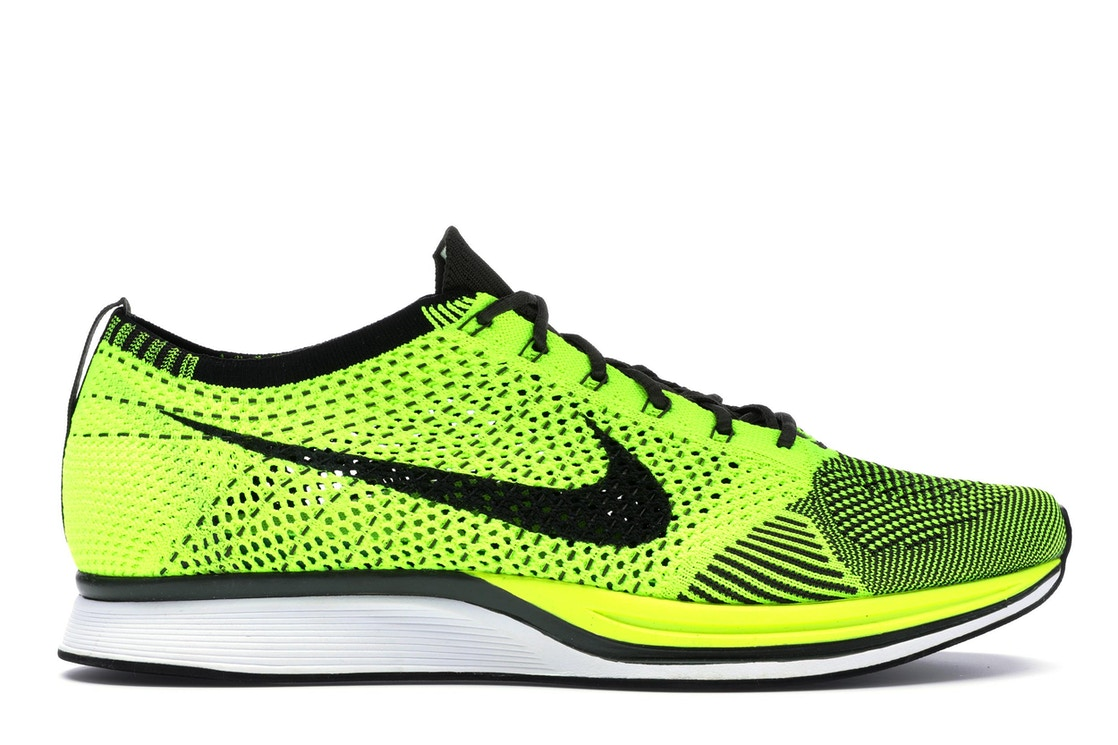 Sell. or Ask. Size 9. View All Bids. Nike Flyknit Racer Volt ... 9b1165717