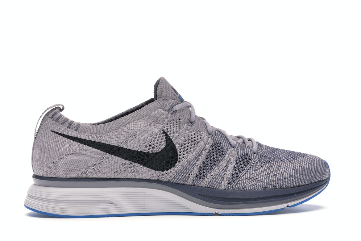 Nike Flyknit Trainer Atmosphere Men's Size 13 Thunder Grey Shoe AH8396-006 New