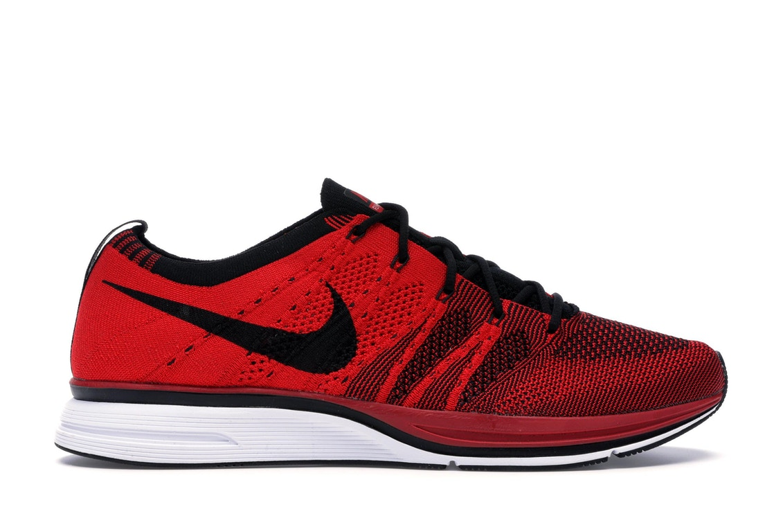 54b9a1b229af3 Sell. or Ask. Size  8.5. View All Bids. Nike Flyknit Trainer University Red  ...