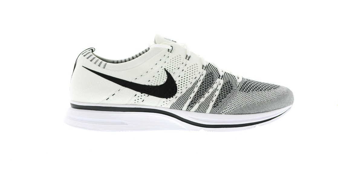 0f70e610f209 Flyknit Trainer White Black (2017) - AH8396-100