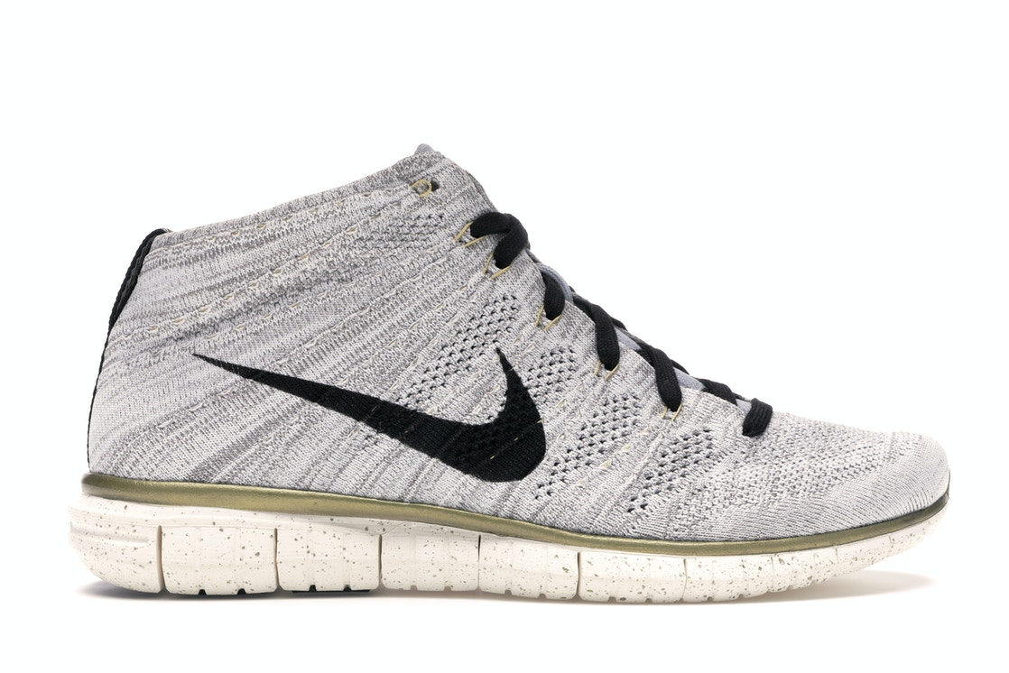 lowest price 16905 babe7 Nike Free Flyknit Chukka Gold Trophy - 640652-100