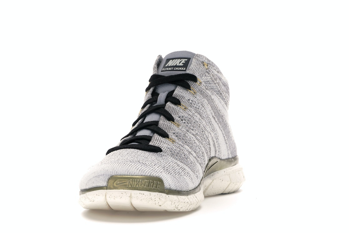 lowest price 584d7 8a5fb Nike Free Flyknit Chukka Gold Trophy - 640652-100