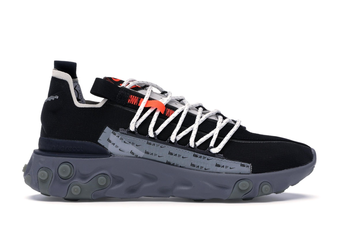 Sell. or Ask. Size 11.5. View All Bids. Nike ISPA React Low Black