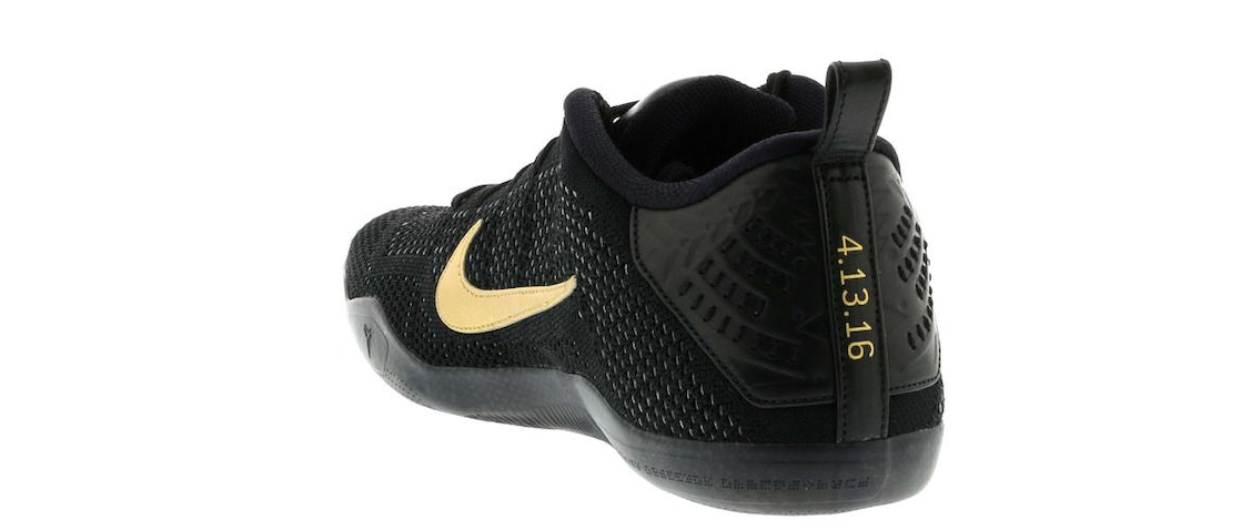 c2a2cf273f37 Kobe 11 Elite Low Black Mamba Collection Fade to Black - 869459-001
