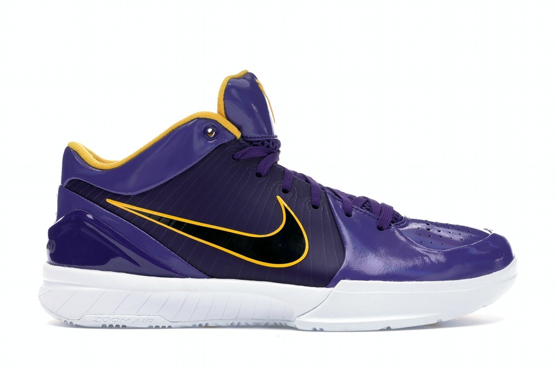 the best attitude 03afc 5d726 Kobe 4 Protro Undefeated Los Angeles Lakers