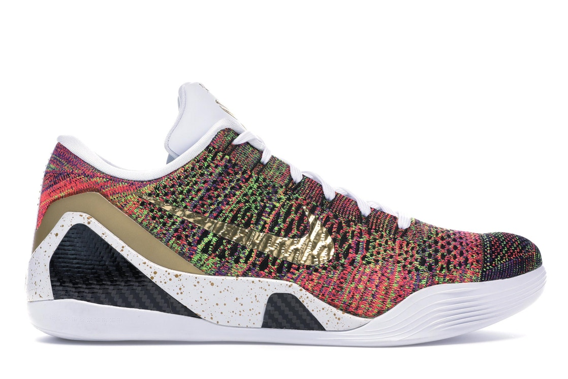 best cheap 92ec7 86e86 Kobe 9 Elite Low Multicolor (NikeID)(White Tongue) - undefined