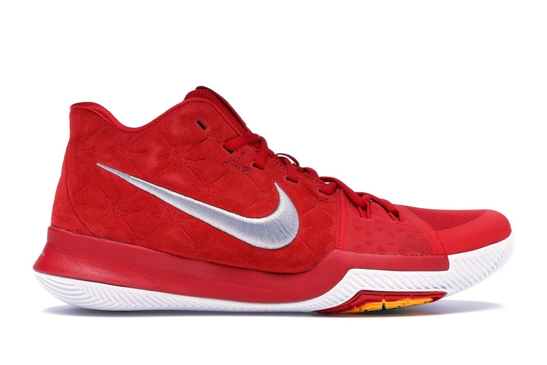 21ff61681306 Kyrie 3 Red Suede - 852395-601