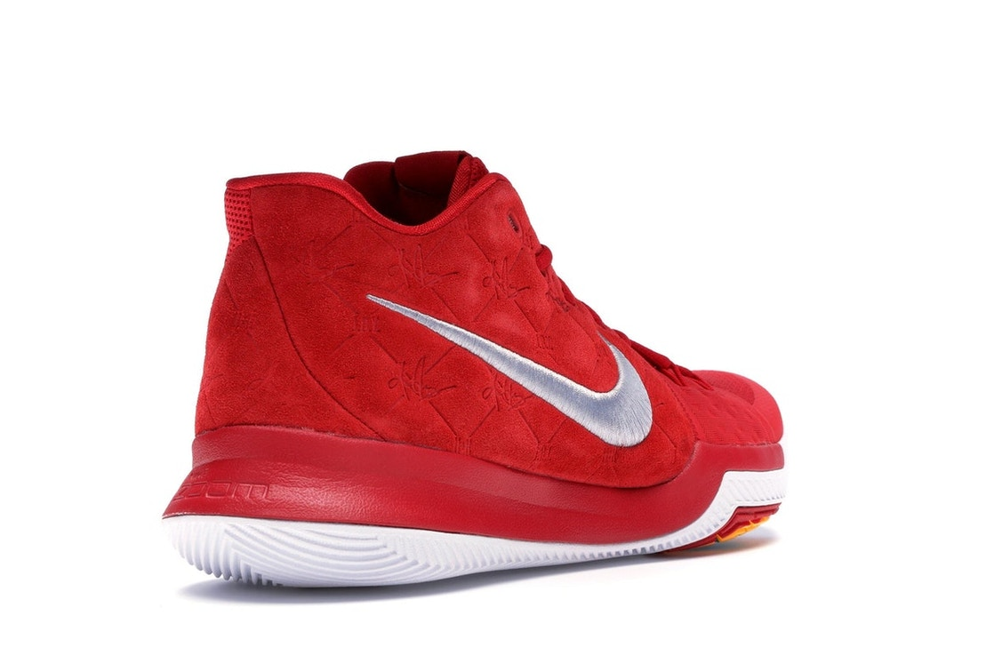 82dc933fe68b Kyrie 3 Red Suede - 852395-601