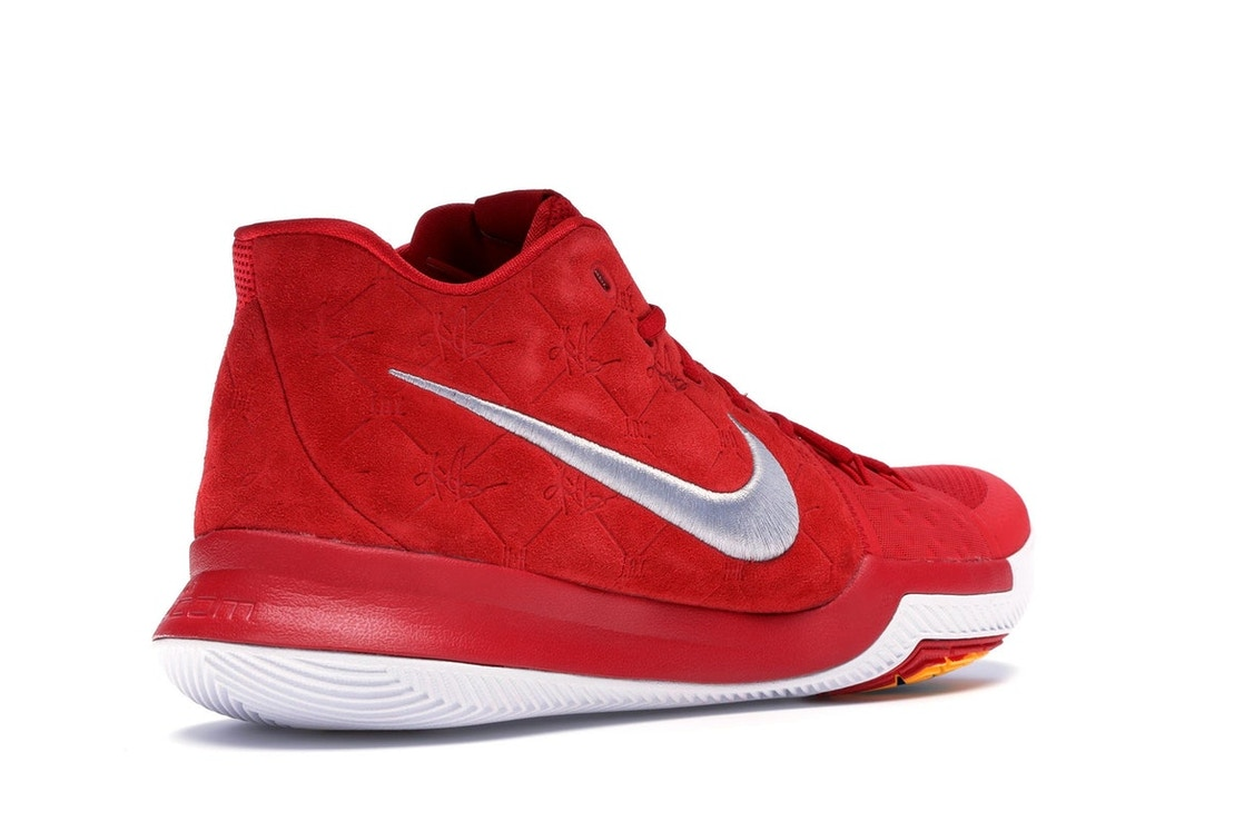 competitive price 586e5 63d40 Kyrie 3 Red Suede - 852395-601