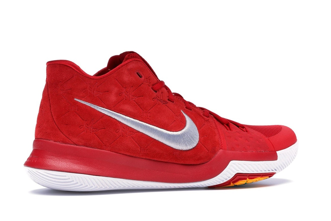 competitive price 86238 6ff7c Kyrie 3 Red Suede - 852395-601