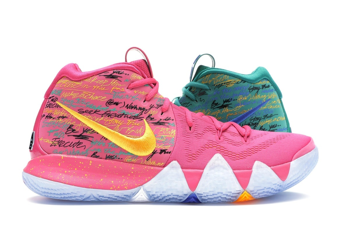 newest 25d18 5ce26 coupon nike kyrie 4 pink 0ed9f c237b