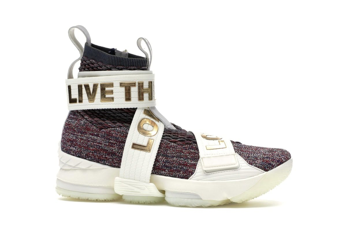 LeBron 15 Lifestyle KITH Stained Glass
