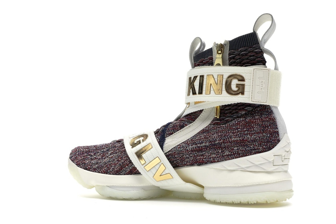 uk availability a82bb 99480 LeBron 15 Lifestyle KITH Stained Glass - AO1068-900