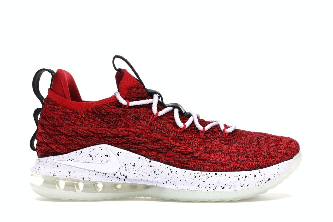 cheaper 9fb65 7f308 LeBron 15 Low University Red