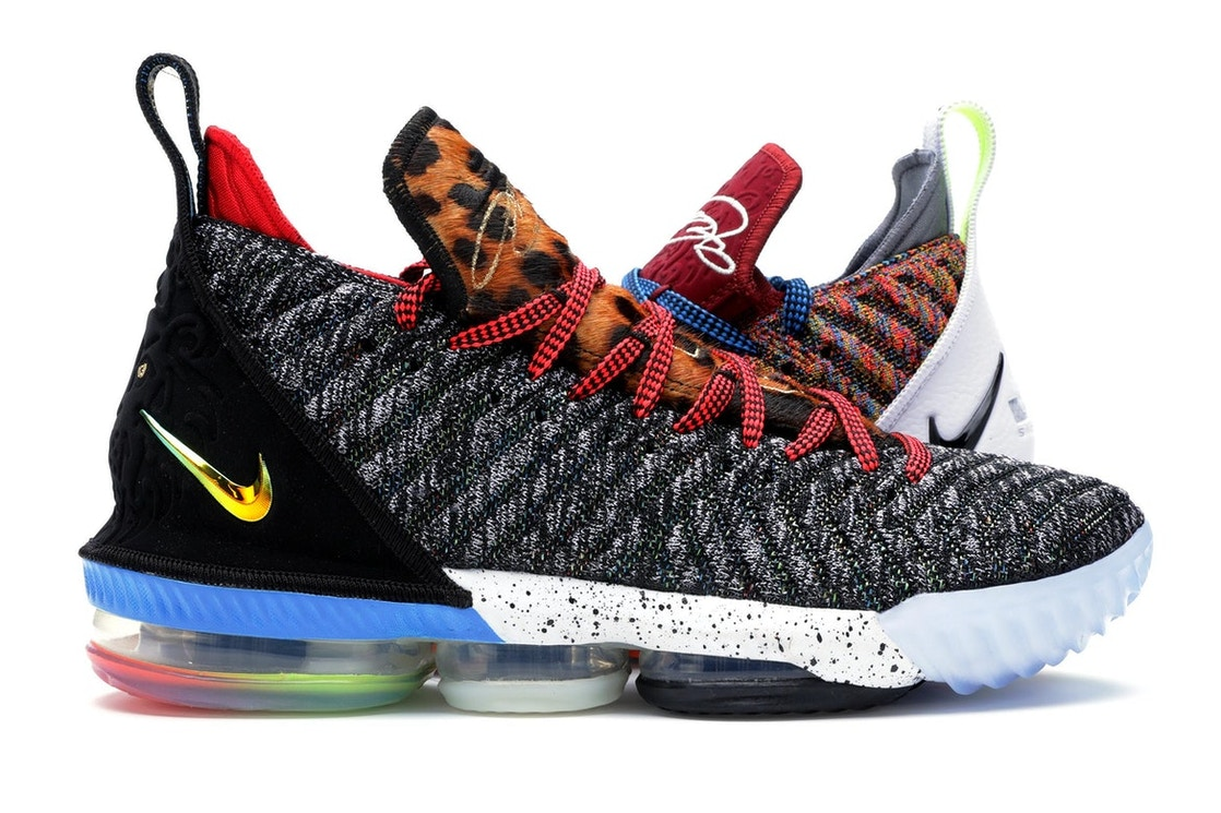 purchase cheap 44fdc 9654a LeBron 16 1 Thru 5 (What The)