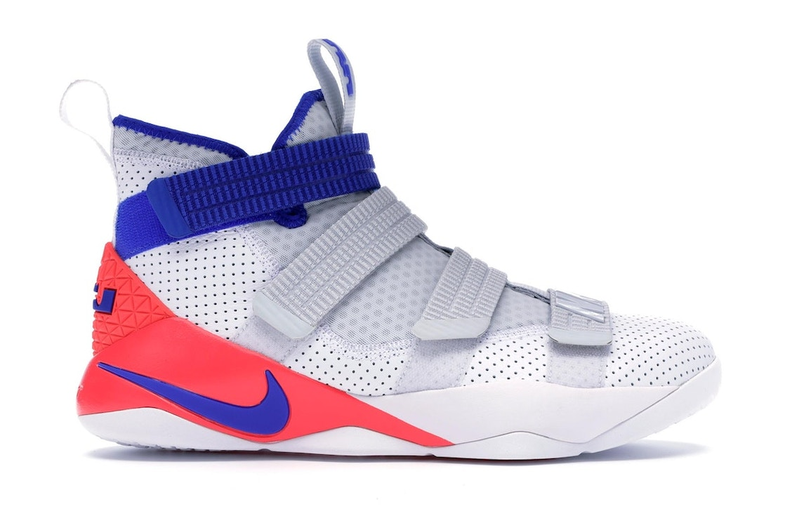 sports shoes 95f61 95059 LeBron Zoom Soldier 11 Ultramarine