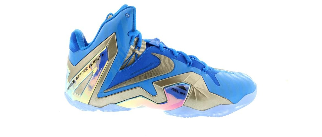 hot sale online 1b655 80635 Sell. or Ask. Size  14. View All Bids. LeBron 11 Elite Maison 3M Blue