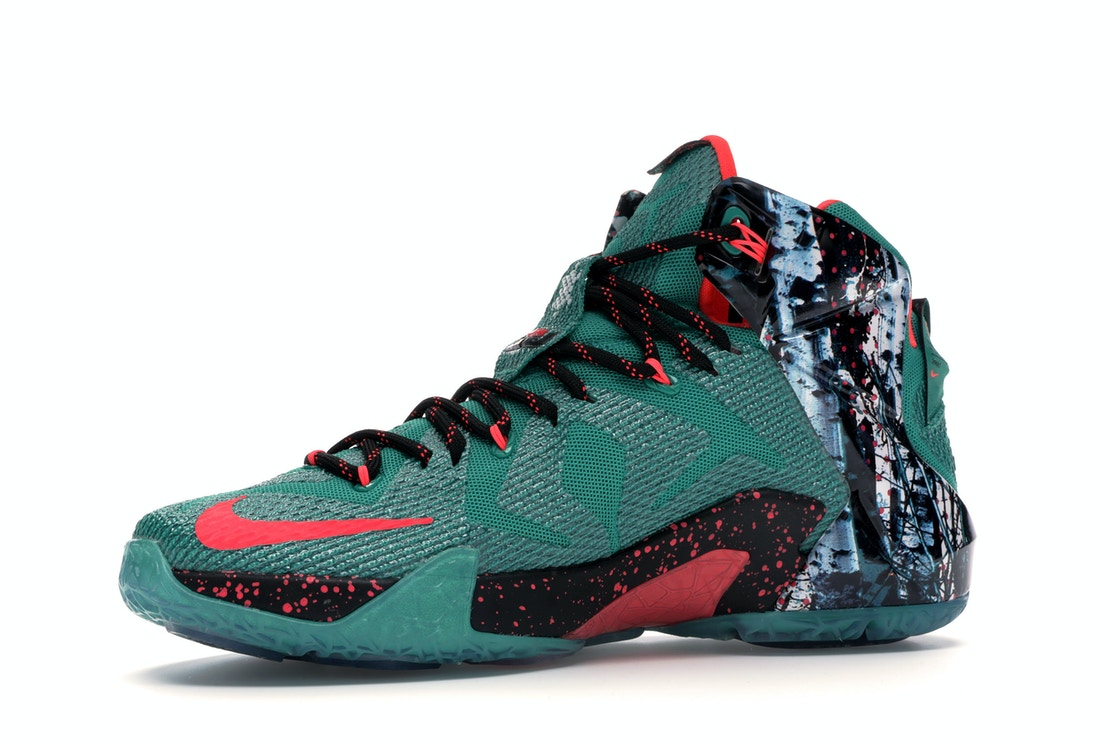 finest selection f17cc 47812 LeBron 12 Akron Birch