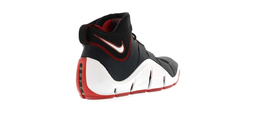 8f85a41bb5f0e LeBron 4 Black White Red - 314647-011