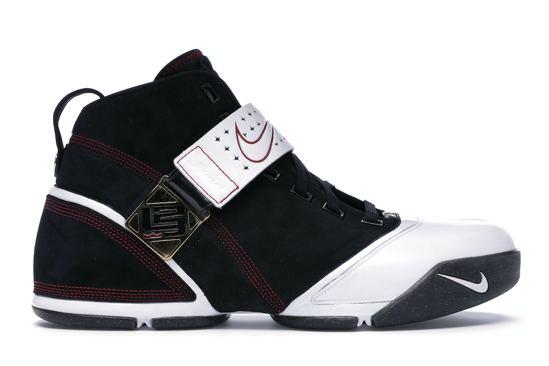 09749858 Sell. or Ask. Size: 12. View All Bids. LeBron 5 Black Crimson Black