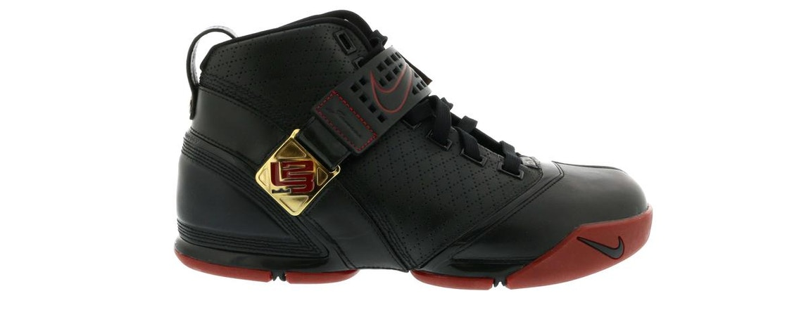 9c8f7f01 Sell. or Ask. Size: 12. View All Bids. LeBron 5 Black Crimson ...
