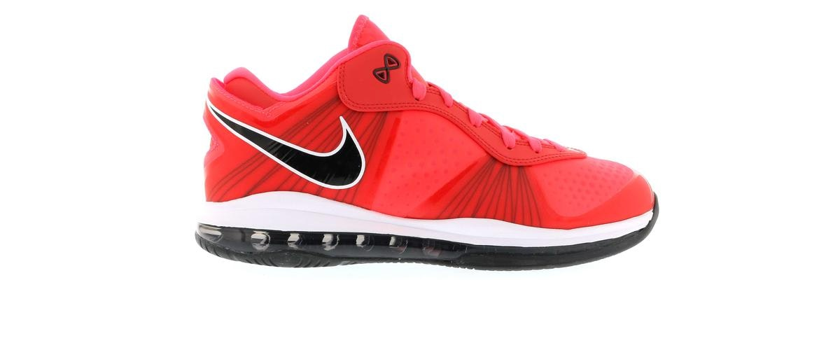 lebron 8 solar red size 115 mens health network