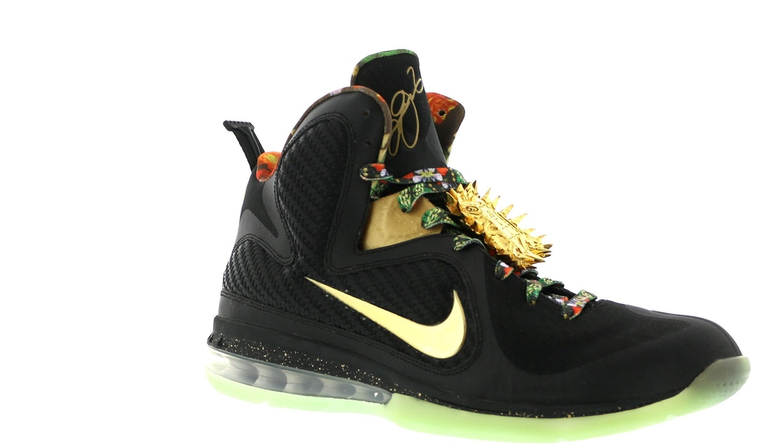 LeBron 9 Watch the Throne (With Lacelock) - H011-MNBSKT-729-286954-Y3 155785a86