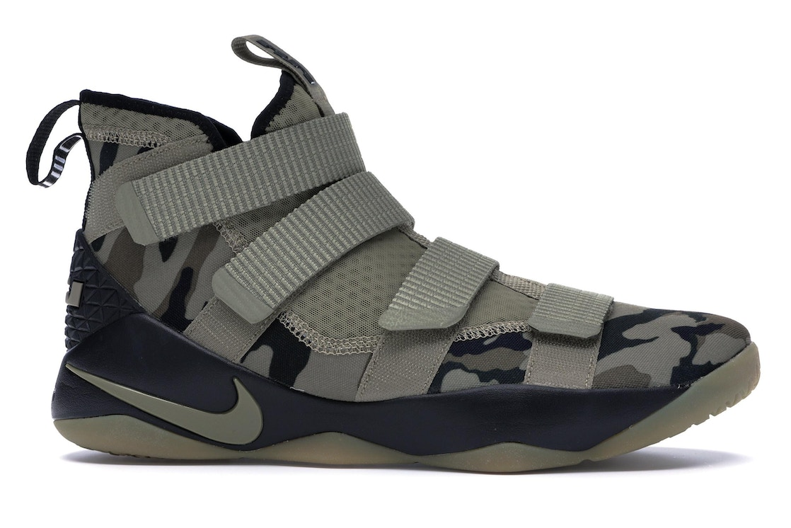 new style 04373 d1d00 LeBron Zoom Soldier 11 Camo